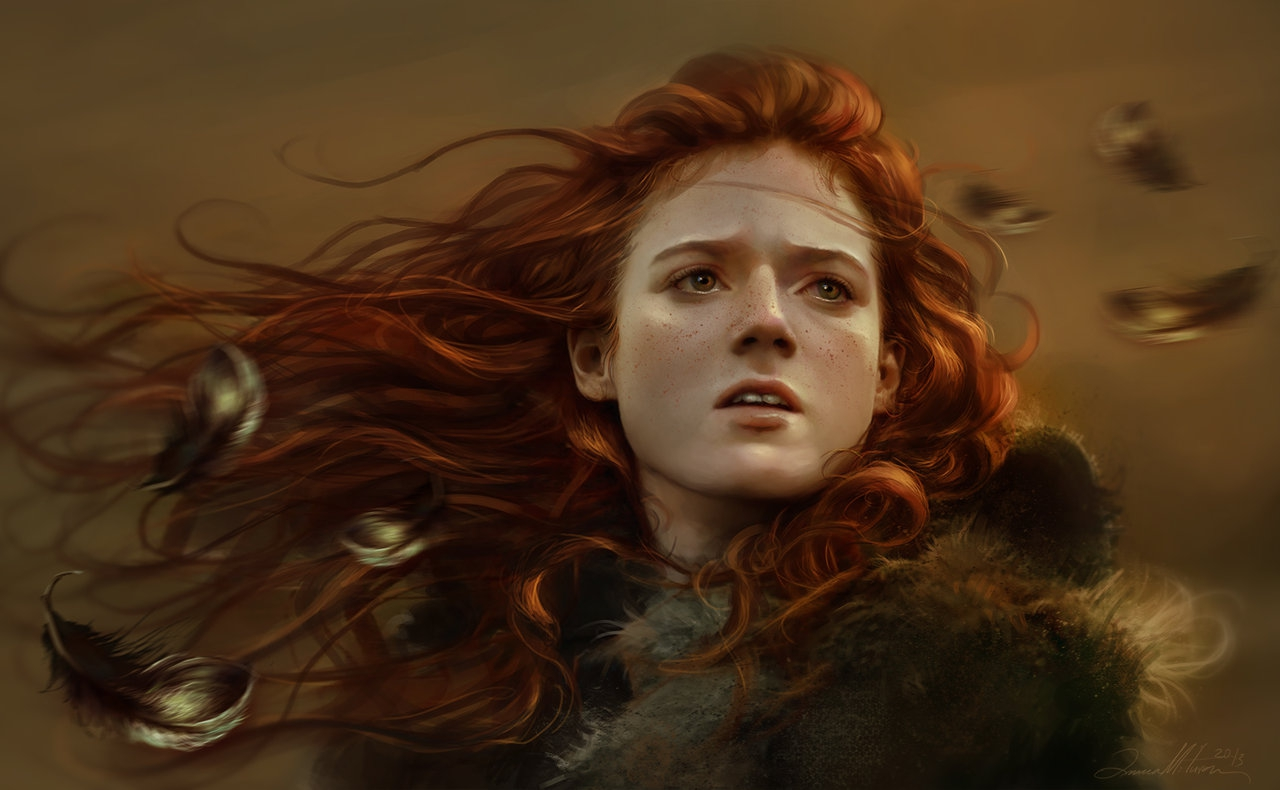 Redhead fantasy art nudes tube